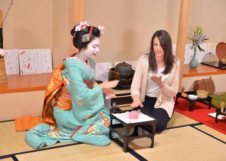 【京都観光の目玉】一見さんも外国人もOK! 舞妓さんの魅力を体感