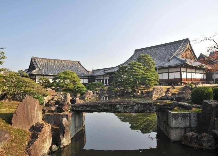 Ninomaru Garden, an original part of Nijo Castle