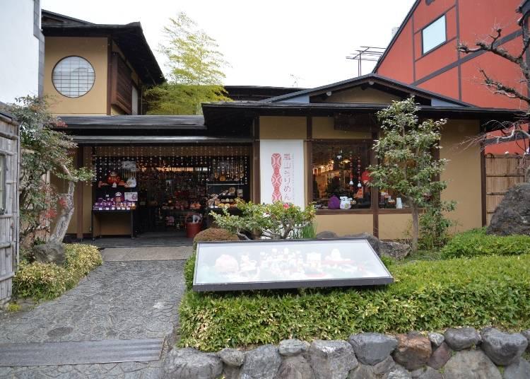 2,伝統工芸で作ったお寿司も⁉ 「ちりめん細工館」