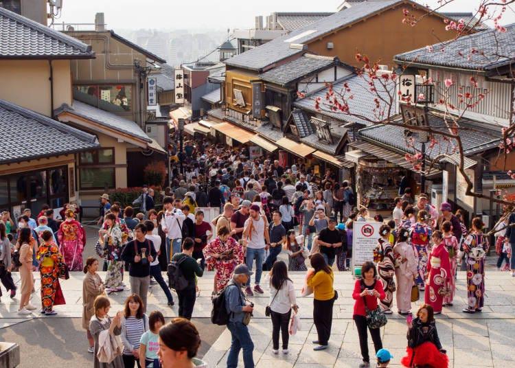 참배 후의 재미는 몬젠마치(門前町) 산책