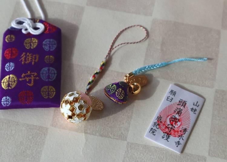 購買清水寺護身符獲得釋迦牟尼佛的保佑
