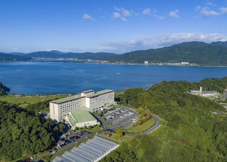 A Full View of Miyazu Bay:Hotel and Resort Kyoto Miyazu