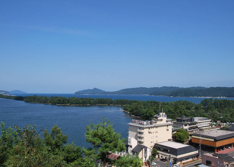 The Natural Hot Springs and Dining are a Must! Amanohashidate Hotel
