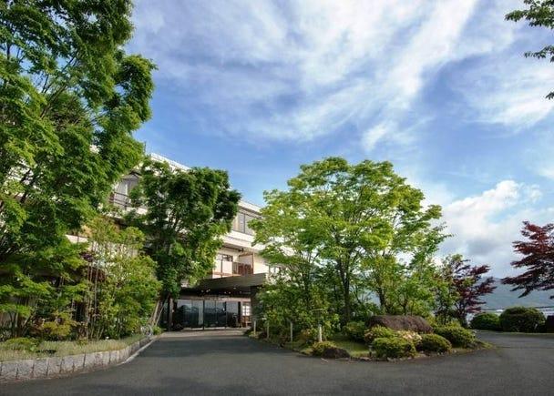 3. Hotel Kitanoya: Enjoy a Garden Bath and Guest Room Outdoor Baths!