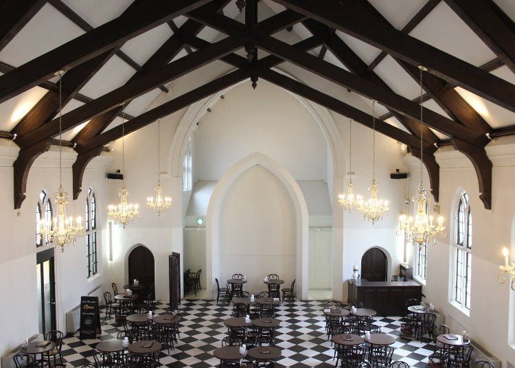 "Enjoy Tea Inside a Church at ""Freundlieb"""