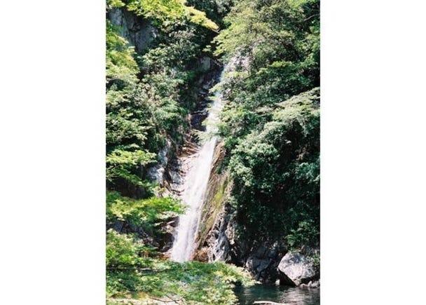 新神戶站的綠洲「布引瀑布」