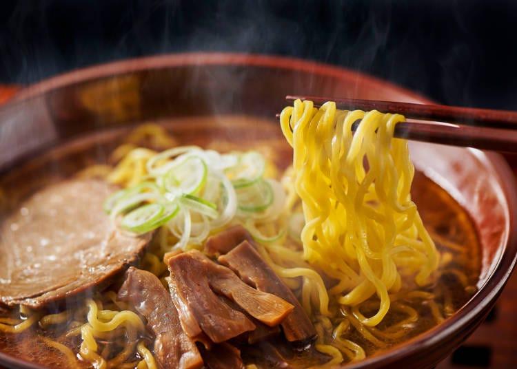 甘いスープが特徴の「播州ラーメン」