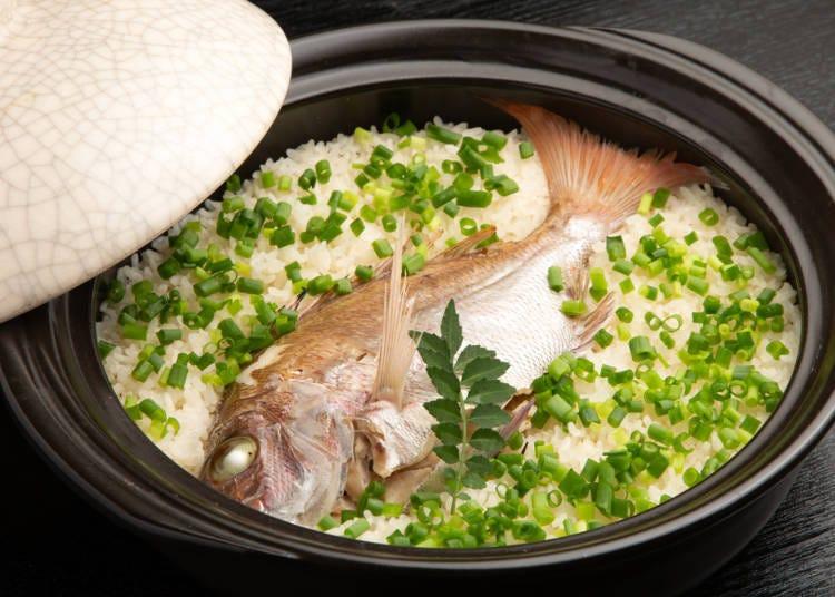 아카시 도미의 맛이 농축된 [다이메시]