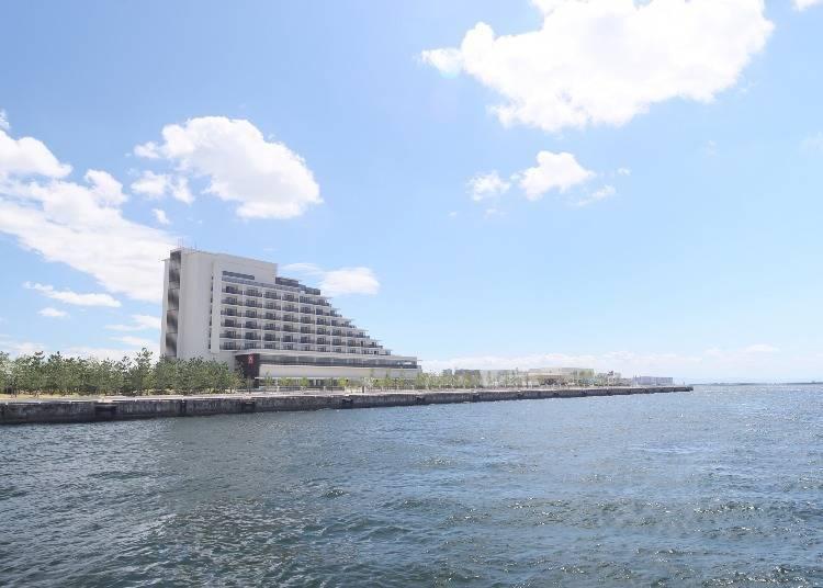 3. Kobe Minato Onsen Ren: a Modern Japanese Inn with a Natural Hot Spring
