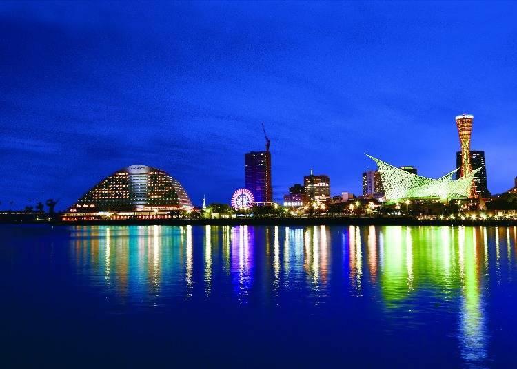 일본 유일! 공식 등대가 있는 '고베 메리켄 파크 오리엔탈 호텔'