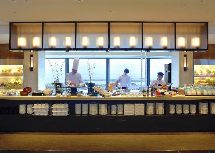 日式、西式、中式餐廳齊聚一堂,實力和美味不分軒輊