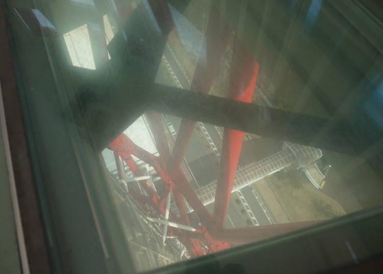 スリル満点!地上75mの空中散歩