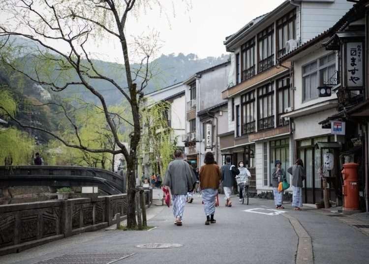 기노사키 온천의 인기 온천 베스트 3. 외국인 관광객이 36배로 지금 뜨고있는 온천.