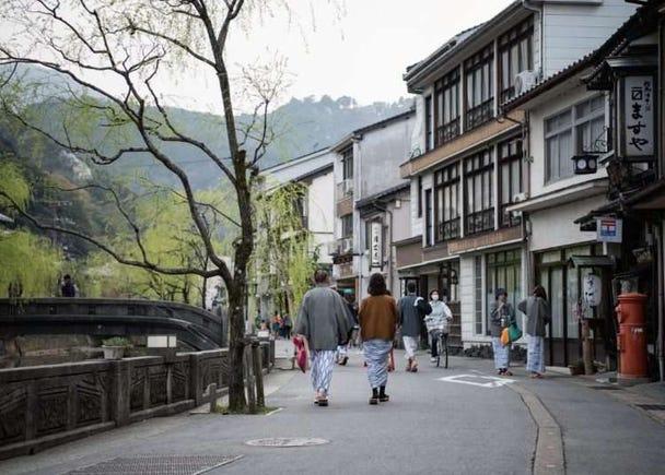 Authentic Onsen Experience! 3 Popular Baths in Kinosaki Onsen for Internationals
