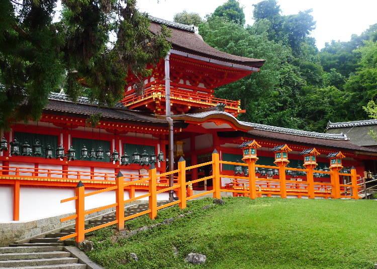 Kasuga Grand Shrine, Established as a Capital Guardian