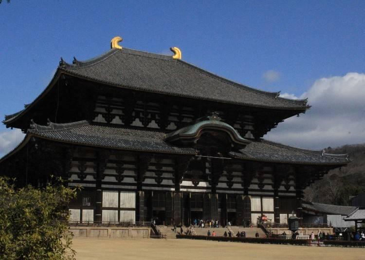 世界最大規模的木造建築:東大寺的「大佛殿」