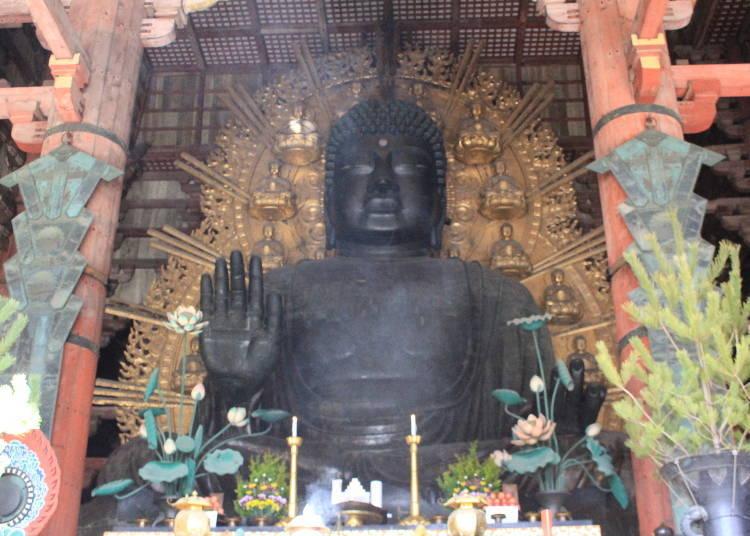 參拜日本最大的東大寺主佛「大佛」
