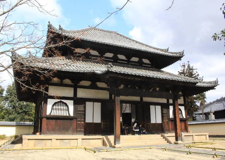 東大寺裡還有「戒壇院」的四天王像不可錯過