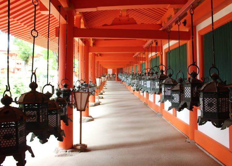 Kasuga Grand Shrine, Established to Protect Heiji-kyo