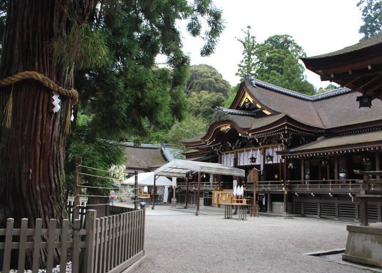 오오미와 신사는 산을 신으로 모시는 일본에서 가장 오래된 신사