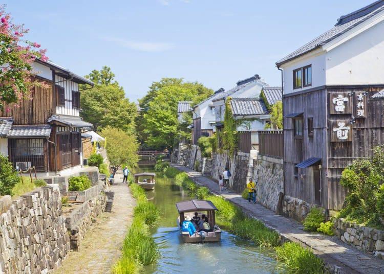 3. A Tour of Omihachiman's Hachiman-bori Canal