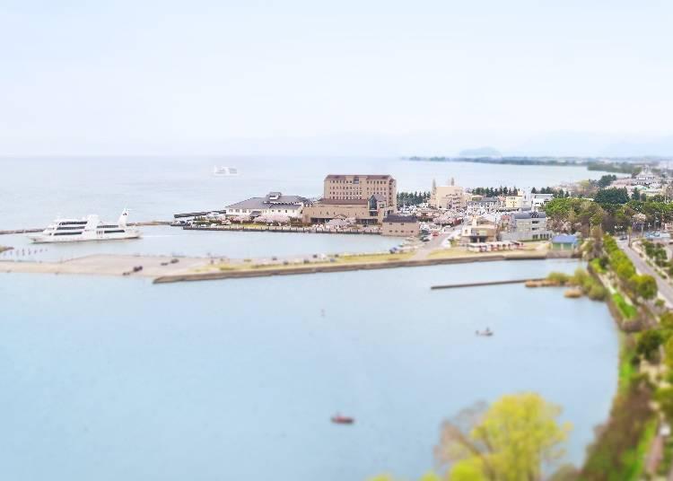有如在義大利度假般的「北琵琶湖Grazie」