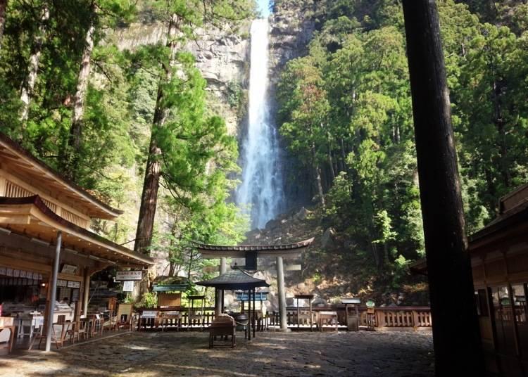 2. See the breathtaking Nachi Falls in Wakayama - One of Japan's three greatest waterfalls