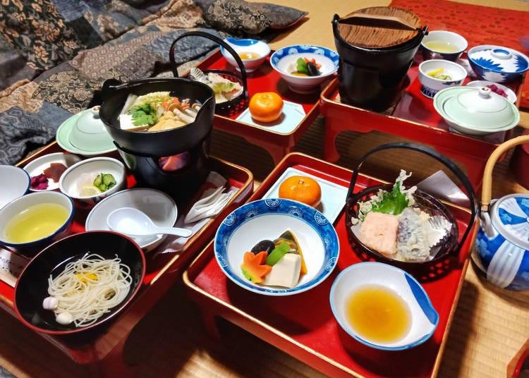 The holy site Mount Takano's temple food: Shojin-ryori