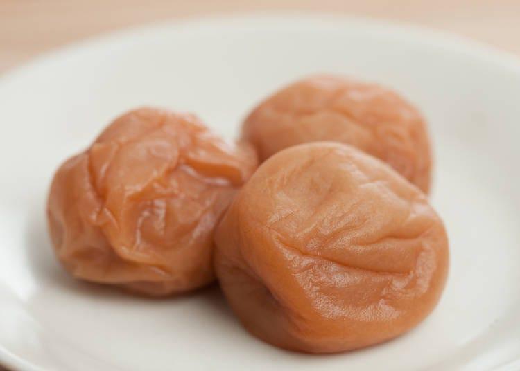 최고급품 난코 매실로 만든 '우메보시'
