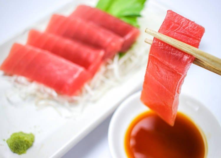 和歌山自由行必吃美食③吃法五花八門的新鮮「鮪魚」