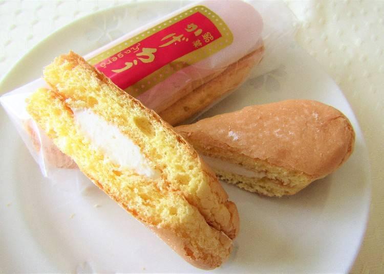 和歌山自由行必買伴手禮②福菱的「奶油酥皮餅」和「柚子最中」