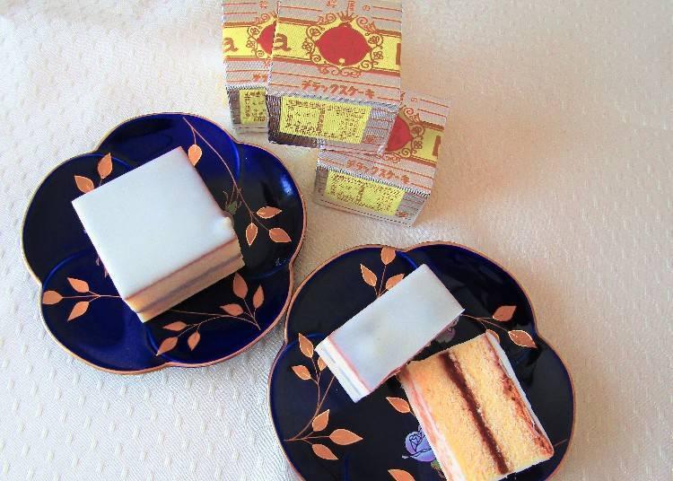 和歌山自由行必買伴手禮③鈴屋的「豪華大蛋糕」