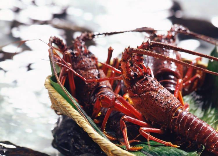 日本三重自由行必吃美食①以伊勢龍蝦為首的豐富海產