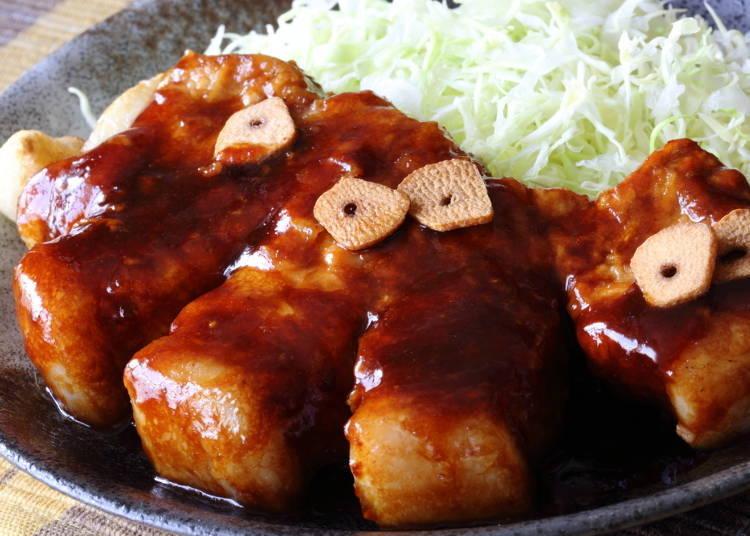 5. Yokkaichi Pork Steak: Yokkaichi's famous dish