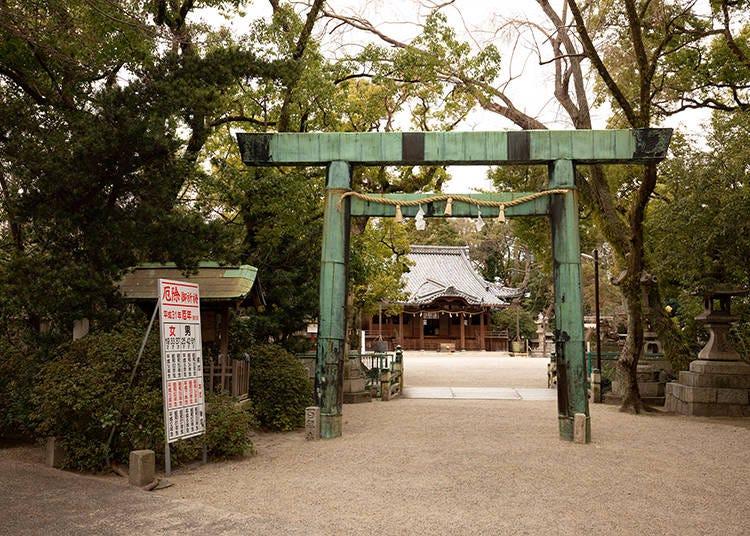 1202年からの歴史ある神社「諏訪神社」