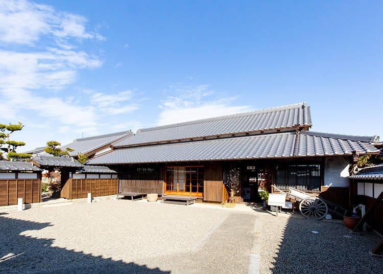 江戸時代の建物をそのまま活用した「四日市市楠歴史民俗資料館」