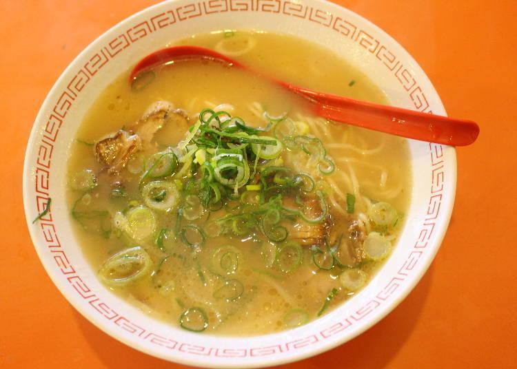 第一站:首先在大阪吃碗早晨拉麵!