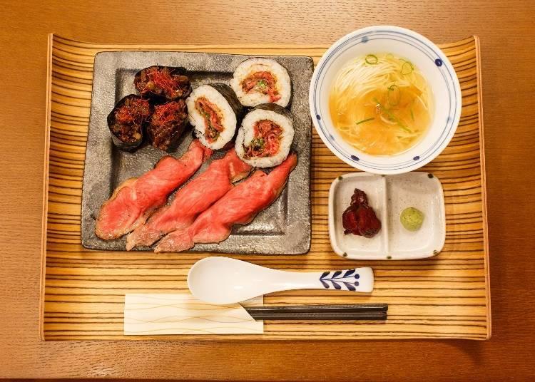 第二站:午餐在京都大啖肉壽司