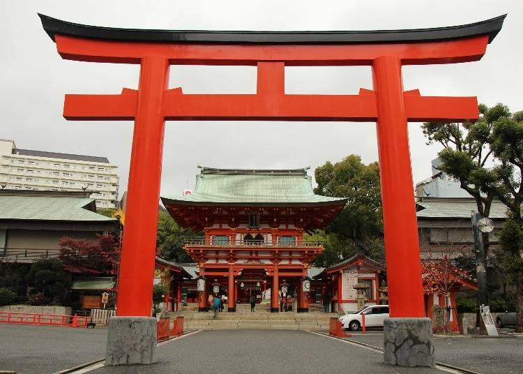 神戸:街の中心地にあるシンボル的存在「生田神社」