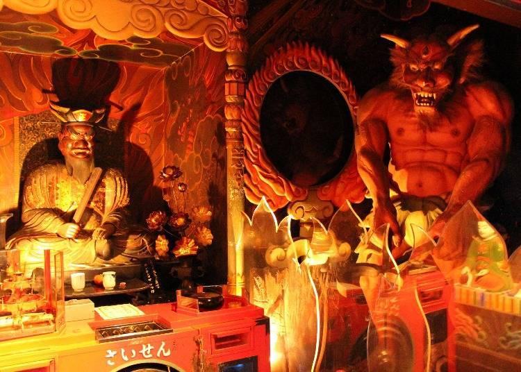 「地獄堂」以特殊的呈現方式傳達生命的重要性