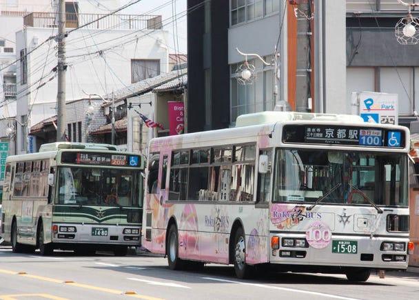 交通のポイント 京都編