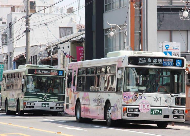 交通方面的重點:京都篇
