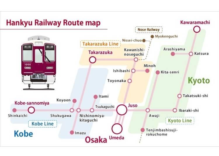 Hankyu Dentetsu: Private railway connecting Osaka, Kyoto, and Kobe
