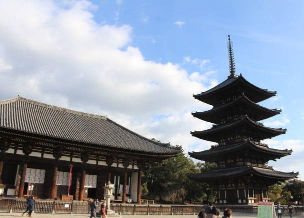 """Kofuku-ji Temple"" is a Treasure Trove of Buddhist Statues and National Treasures"