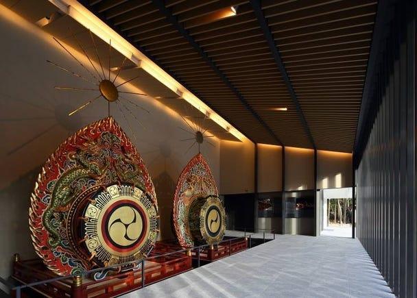 典藏春日大社寶物的「國寶殿」