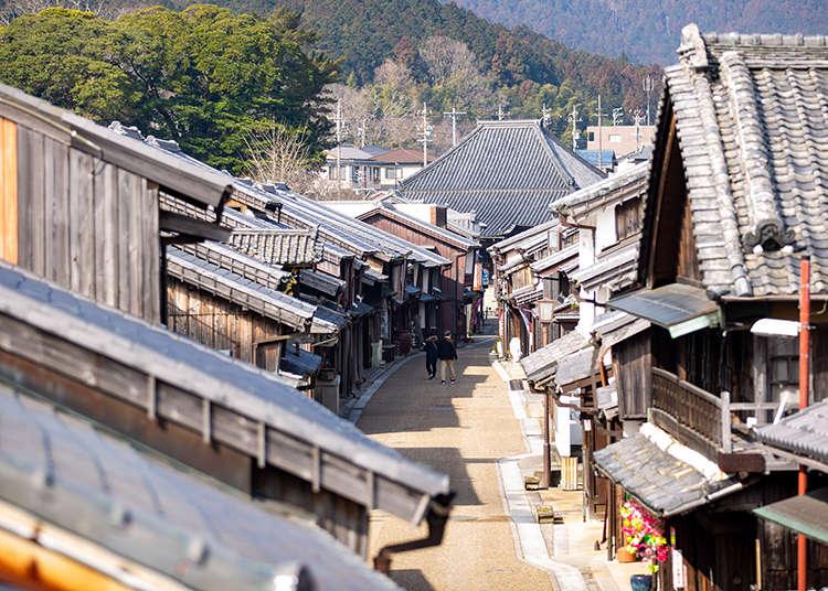 関西の小江戸「関宿」の1日観光