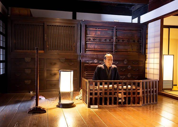 完整保留江戶時代風情的「關宿旅籠玉屋歷史資料館」