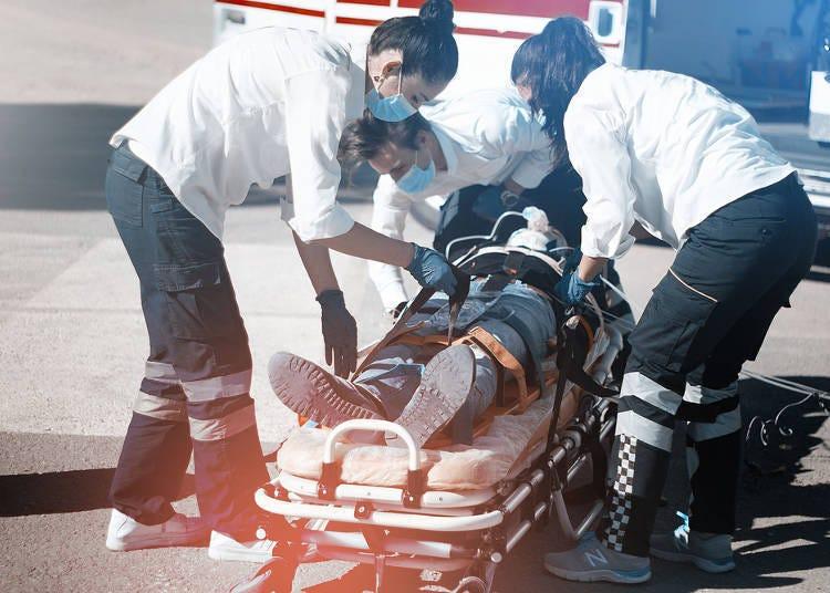 「急救醫院」就診的流程