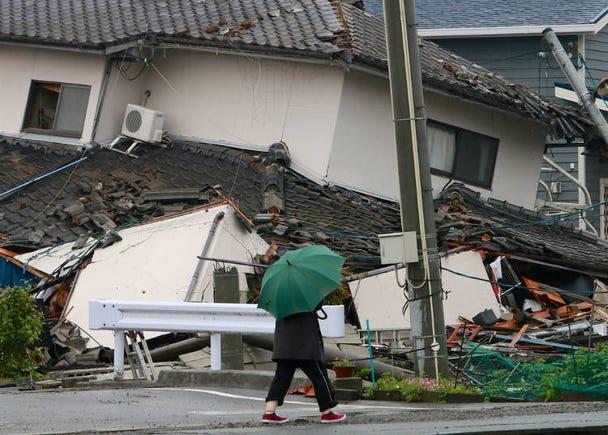 Earthquake in Osaka
