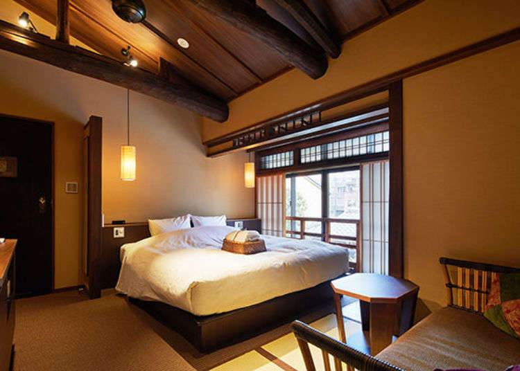 Kyokoyado Muromachi Yutone: Inside the Hidden 7-Room Japanese Ryokan Inn With Private Baths